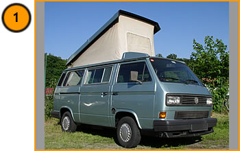 Volkswagen Westfalia California T3