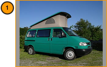 Volkswagen Westfalia California T4