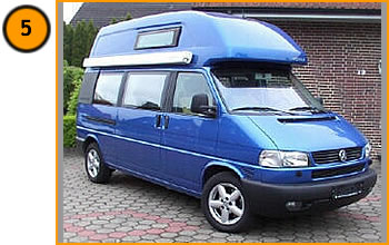 Volkswagen Westfalia California T4 Exclusive